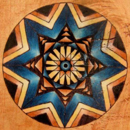 Woven Wood 11
