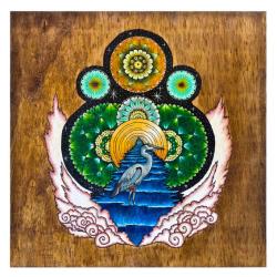 Heron Mask