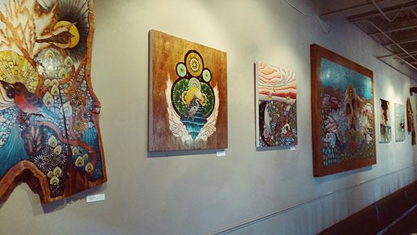 Lucky's Cafe Art Show - Chris Huang
