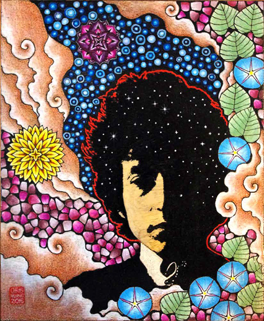 Bob Dylan - Yellow Lotus Designs